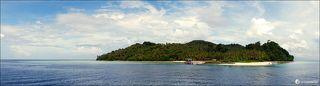 Si Amil island. Malaysia.