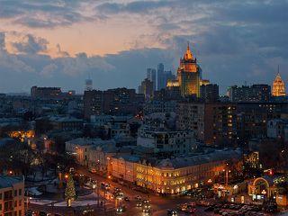 Старо-новая Москва и немного Украины