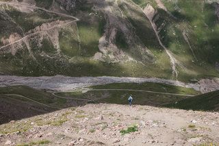 Тропа на Альпинград.