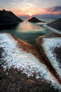Snow seaweeds - Rezovo,Bulgaria