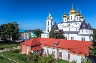 Хозяйственные постройки Дмитровского Кремля