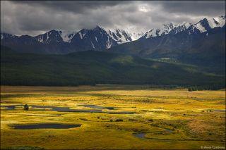 Ручьи и болотца Ештыкёля