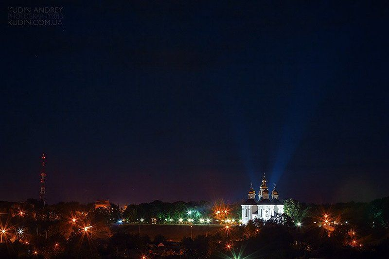 Фото Чернигова, Фотограф Кудин Андрей, Чернигов город Ночь в городе...photo preview