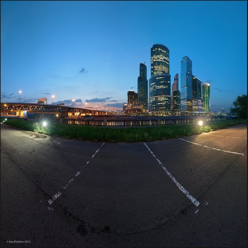 архитектура, вечерняя москва, москва, москва-сити Mr. Frogphoto preview