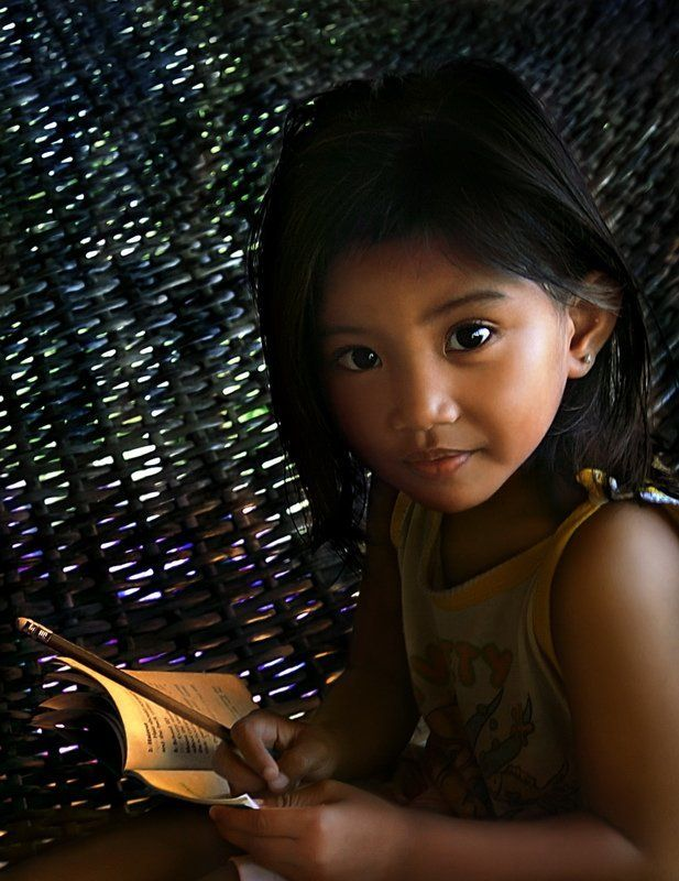 филиппины, девочка портрет Philippinean girlphoto preview