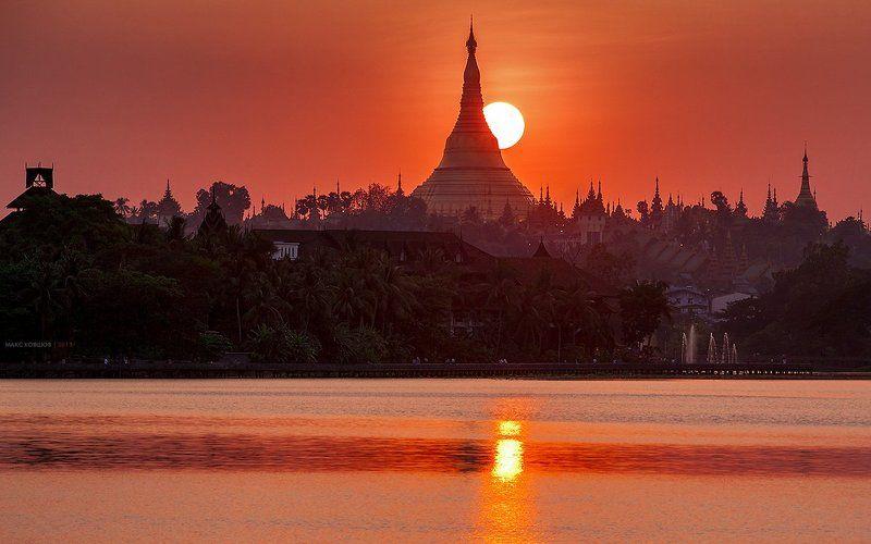 Бирма, Мьянма, Пагода, Шведагон, Янгон Мьянма. Шведагон.photo preview