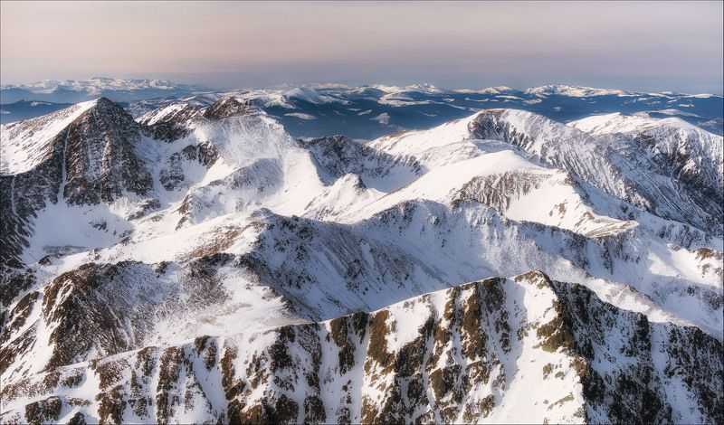 Fagaras, Mountain, Romania, Transilvania, Winter photo preview