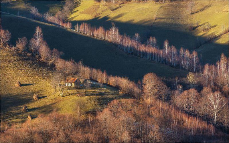 country side, farm, hill, nature, romania, transilvania, travel Little farmphoto preview