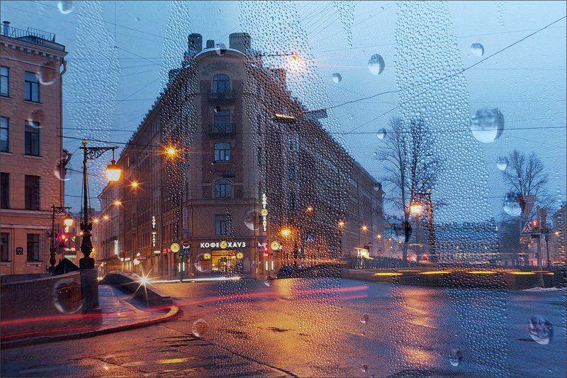 Рисунок света и дождяphoto preview