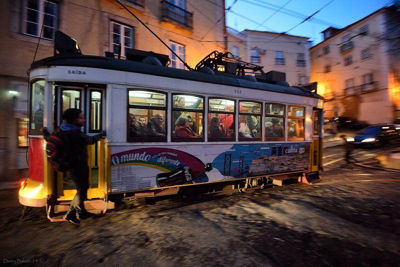 Lisboa, Portugal, Лиссабон, Португалия, Трамвай №28photo preview