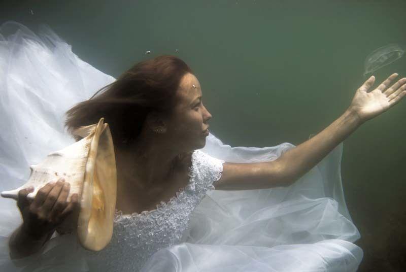 море, девушка Русалкаphoto preview