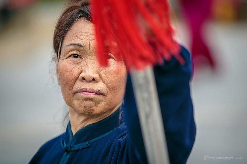 Китай, Ушу Ушу в начале дняphoto preview