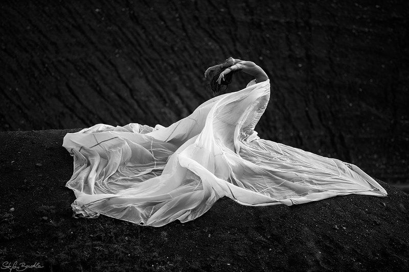 Emotion, Erotic, Monochrome, Nude, Parachute, Sensuality, Sw, Woman show you my worldphoto preview