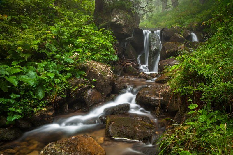 Вода, Горы, Камни, Карпаты, Природа, Ручей Энергия Водыphoto preview
