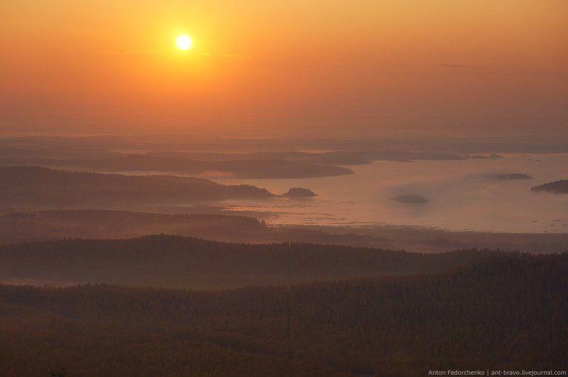 аргази, водохранилище, горы, карабаш, осень, рассвет Рассвет над Аргазиphoto preview