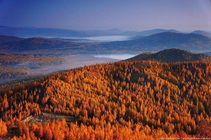 Горы, Карабаш, Осень, Южный урал Золото Карабашаphoto preview