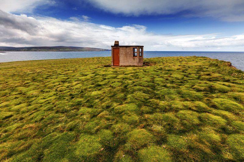 Европа, Ирландия, Мох, Океан, Пейзаж Ирландияphoto preview