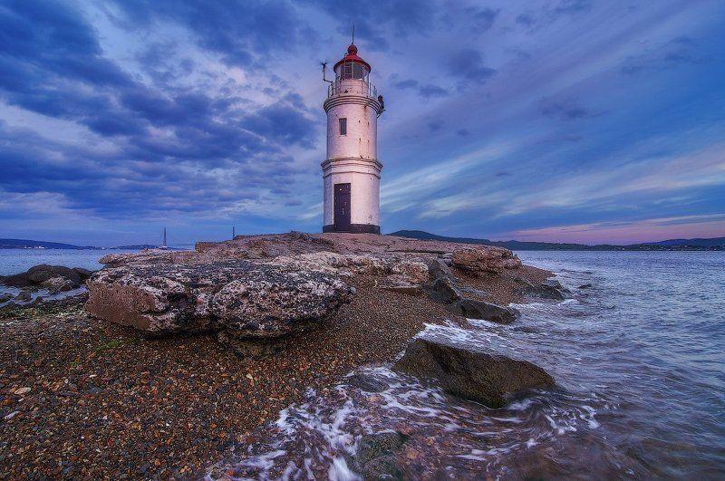 владивосток, дальний восток, россия, токаревский маяк, японское море Маяк Эгершельд. Владивосток.photo preview