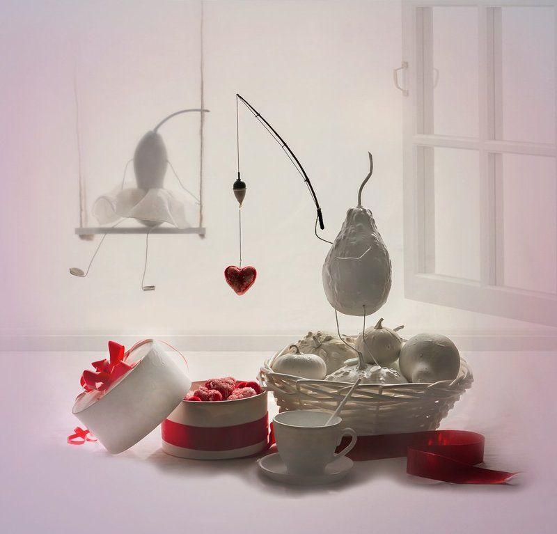 натюрморт,  любовь, праздник,настроение,улыбка ... Я тебя лю ....photo preview