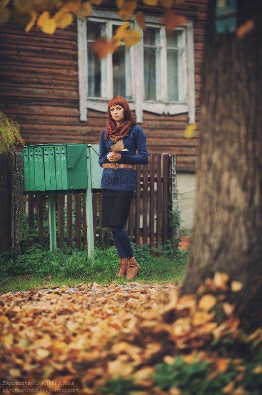 Anna, Autumn, Canon EF 135 mm f/2.0L USM, Fall, Family garden, Kaliningrad, Russia, Vint26, Zaporozhenko Silent Windphoto preview