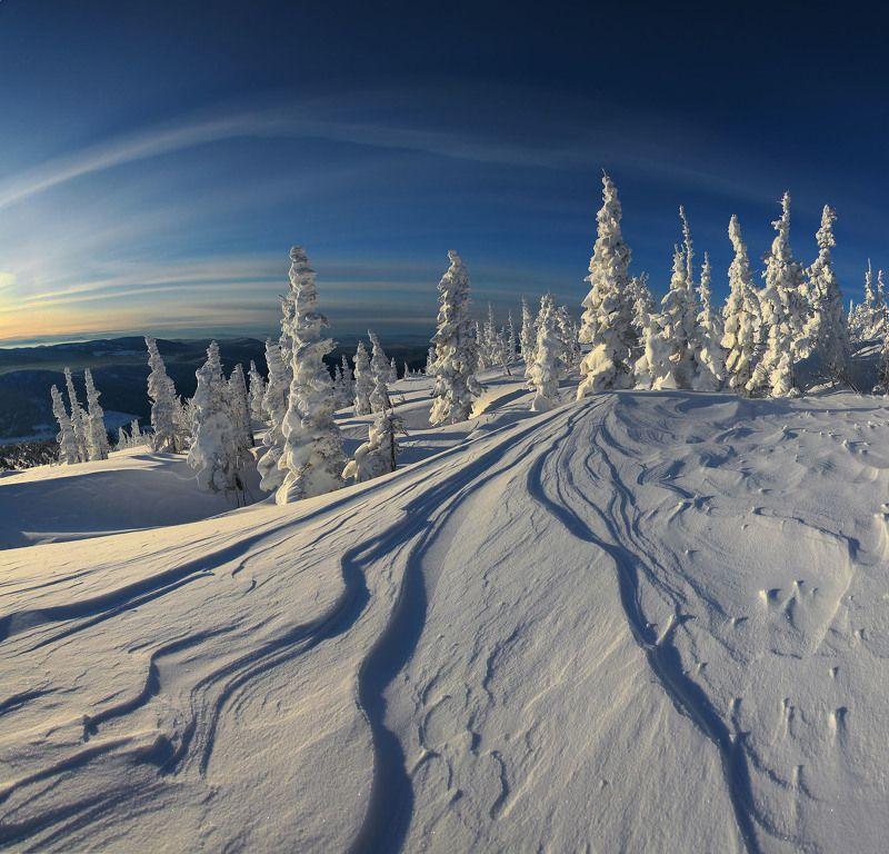 Снежные фантазии Шерегеша...photo preview