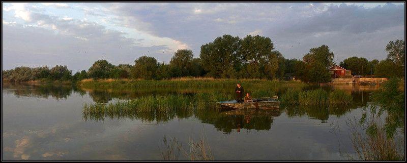 дельта, дон, весна, рассвет, рыбалка Рассвет вчераphoto preview