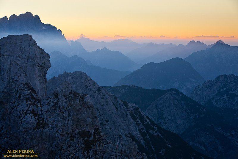закат в Альпахphoto preview