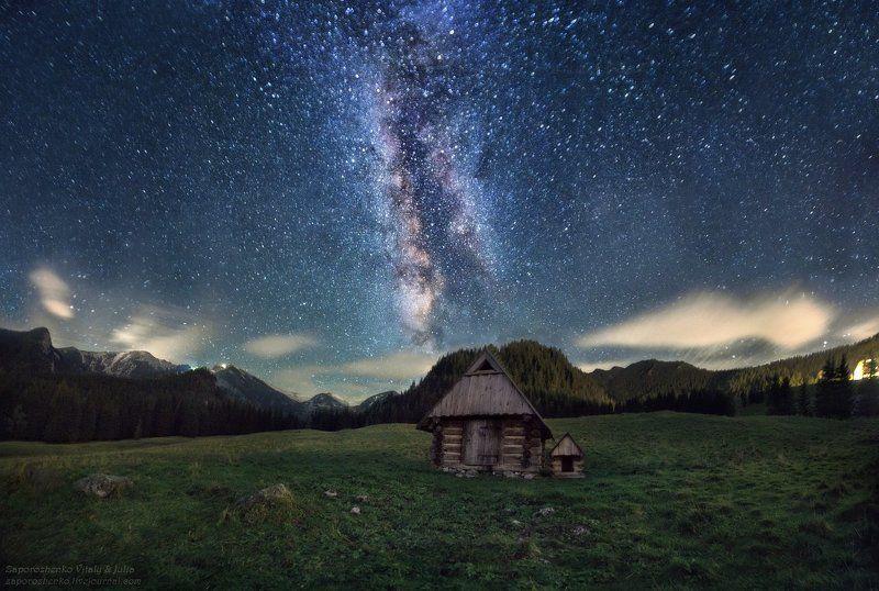Familygarden, Gwiazdy, Kalat?wki, Milkyway, Mountains, Night, Poland, Stars, Tatra mountains, Tatry, Vint26, Zakopane, Zaporozhenko Wonderland of Starsphoto preview