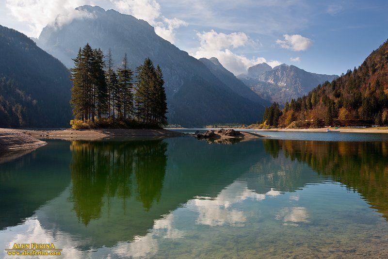 Lake Predil, Italyphoto preview