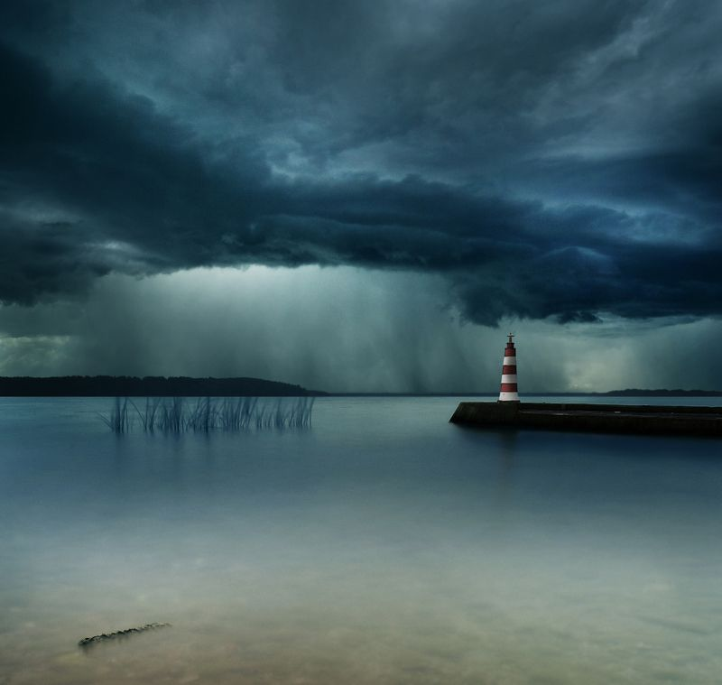 Lithuania, long exposure, storm *photo preview