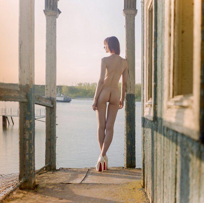 девушка , nude , hasselblad , 6x6 , пленка ,  На отдыхеphoto preview
