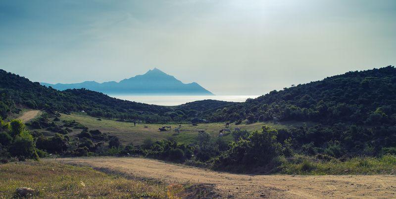 landscape, sithonia sithoniaphoto preview