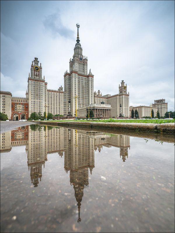 Россия. Москва. Главное здание Московского Государственного Университета.photo preview