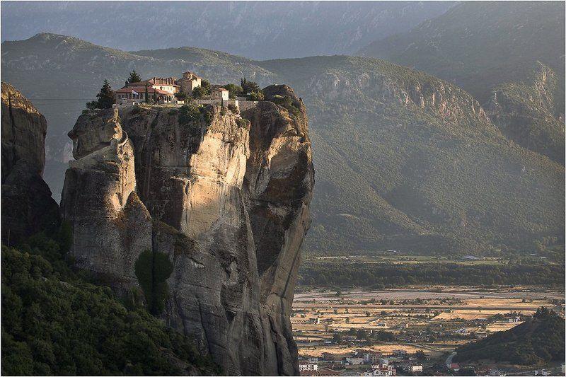 Agia Triada, Greece, Meteoras, Греция, Монастырь святой троицы Агиа Триадаphoto preview