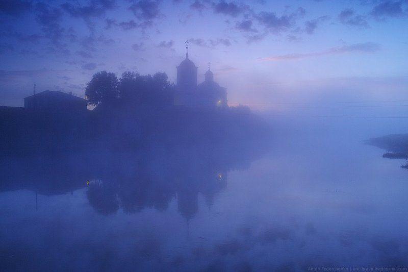 чусовая Рассвет на Чусовойphoto preview