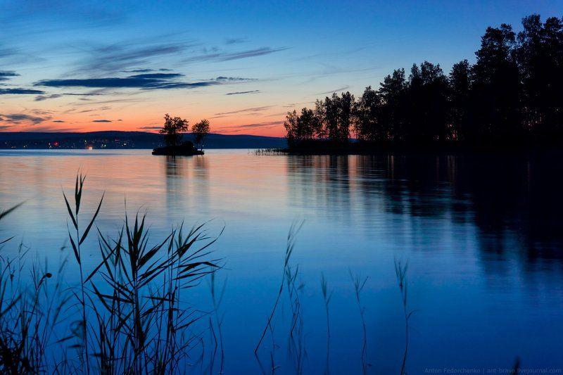 таватуй, закат, озеро Закат на Таватуеphoto preview