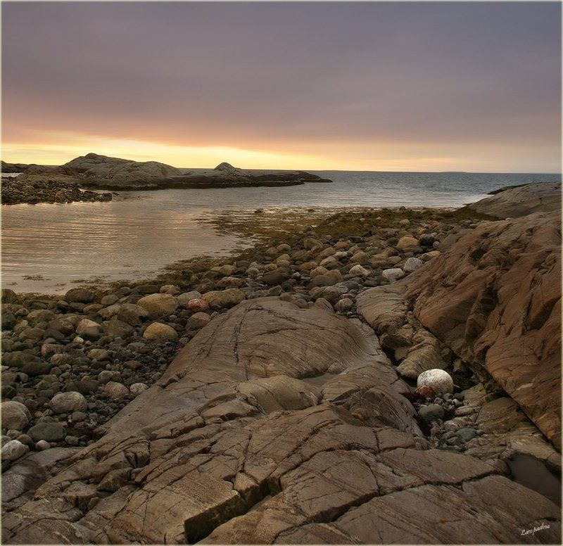 северный ледовитый океан, баренцево море, малая немецкая бухта, Баллада о камнях (Баренцево море 2009)photo preview
