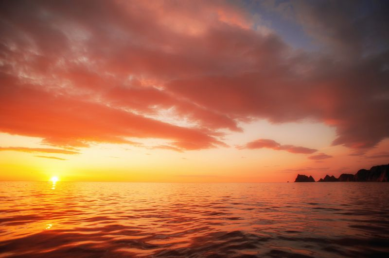 рассвет, тихий океан, камчатка Рассвет в Тихом океанеphoto preview