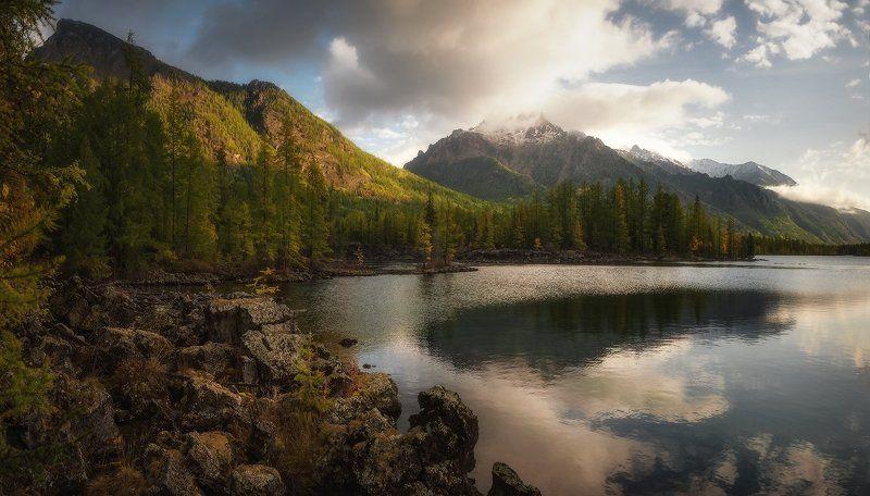 Утро на озере Олон-Нурphoto preview