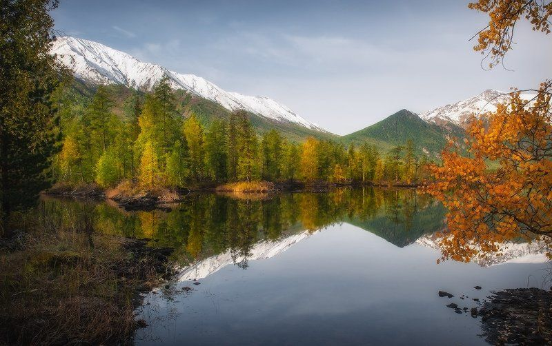 Саянская осень...photo preview