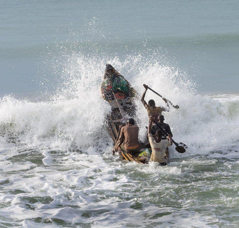 Рыбаки Гвинейского Заливаphoto preview