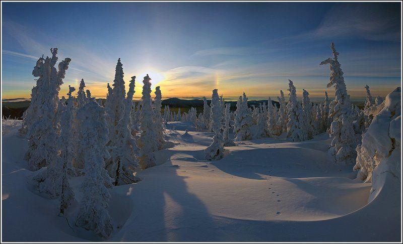 Утро на горе Зелёная...photo preview