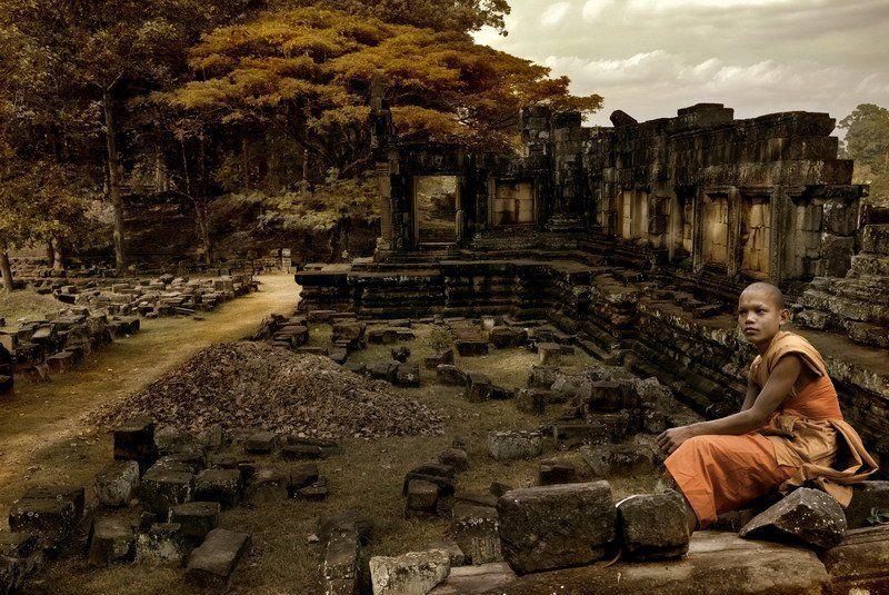 камбоджия, ангкор Philosophy of pastphoto preview
