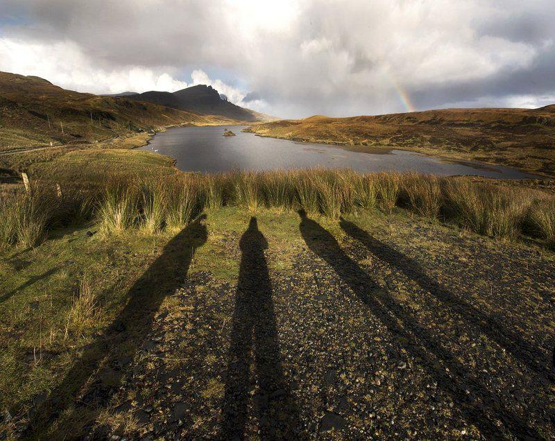 Путешествия, Радуга, Шотландия Знак четырёх...photo preview