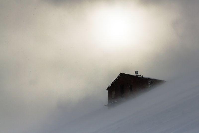 хибины, горы, снег, ветер, кукисвумчорр Ветренный Кукисвумчоррphoto preview