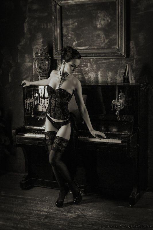 пианино, красота, гламур, ретро, музыка Мелодии ретро...photo preview