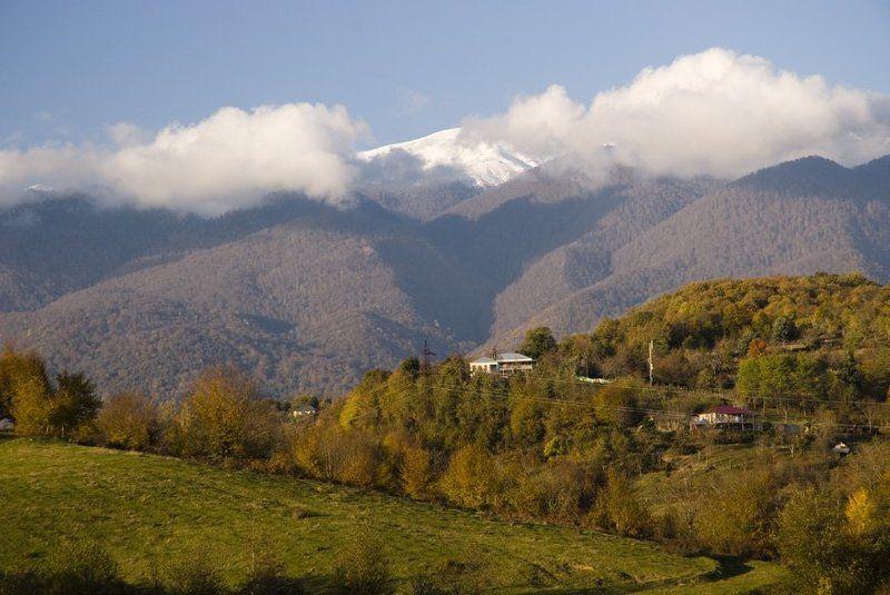 абхазия, страна души Зима в Абхазии.photo preview
