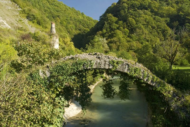 абхазия, страна души Венецианский мост.photo preview