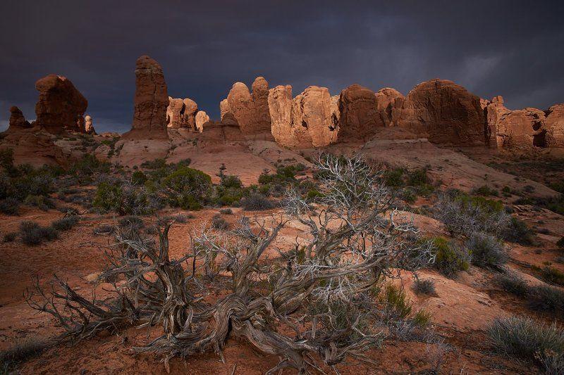 storm, utah, usa, rocks Light and Shadowphoto preview