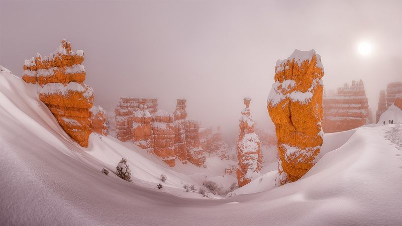 Bryce Canyon В два цвета...photo preview